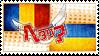 Hetalia Romakraine Stamp by kamillyanna