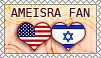 Hetalia AmeIsra Fan - Stamp by kamillyanna