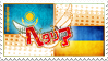 Hetalia Kazakraine Stamp by kamillyanna