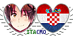 .:APH:. ItaCro Hearts Stamp by kamillyanna