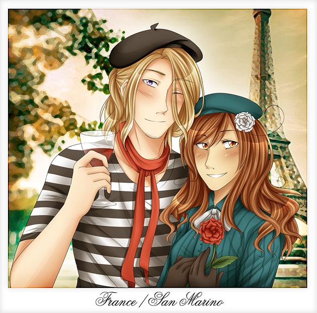 .:APH:. Dans Paris by kamillyanna
