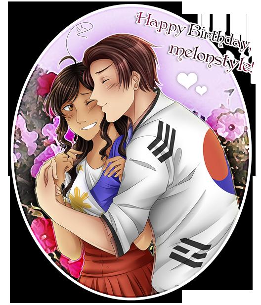 Happy Birthday, Mel! by kamillyanna