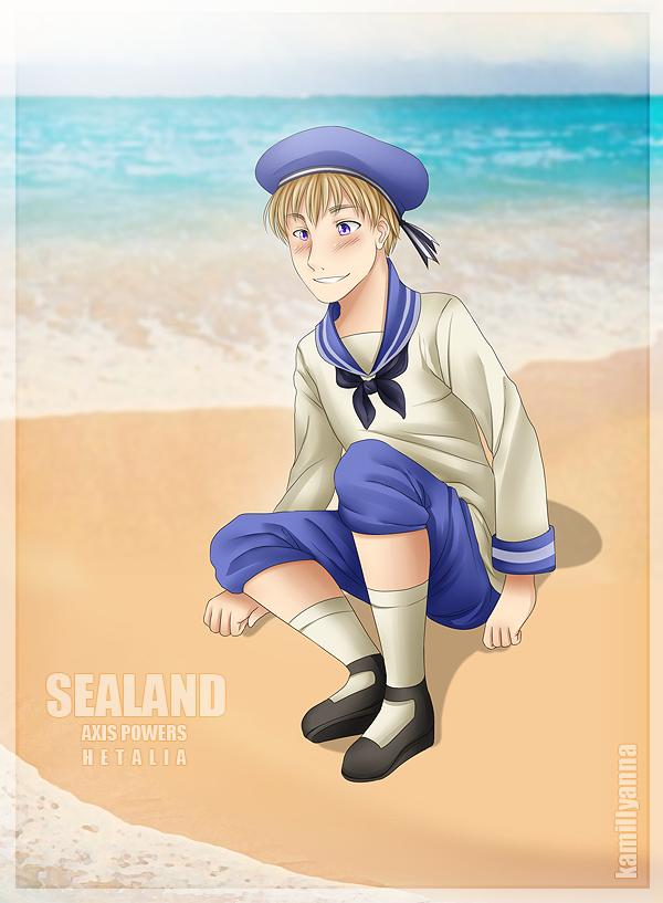 .:APH:. Sealand by kamillyanna