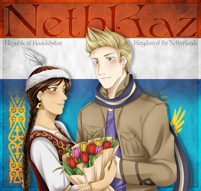 .:APH:. Netherlands x Kazakhstan by kamillyanna