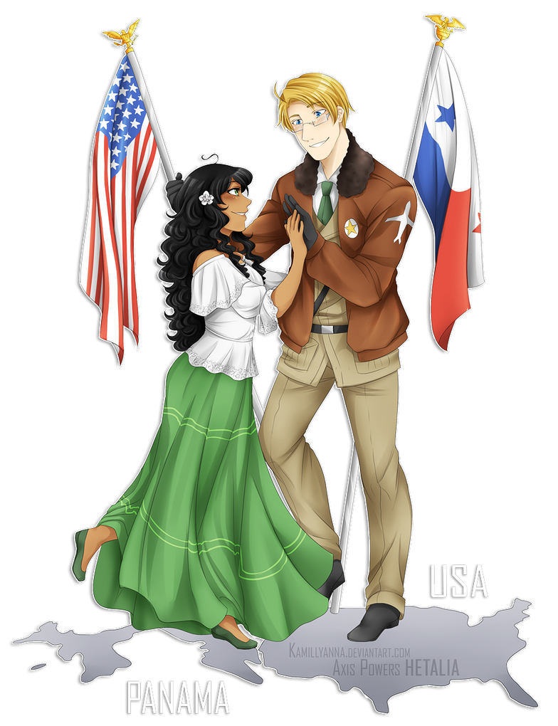 .:APH:. USA x Panama by kamillyanna