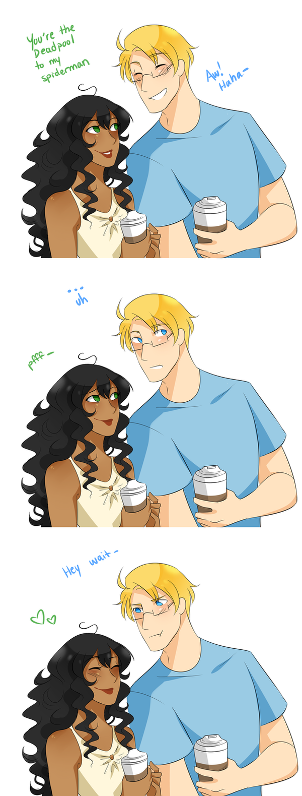 .:APH:. Romantic Things To Tell Alfred Jones by kamillyanna