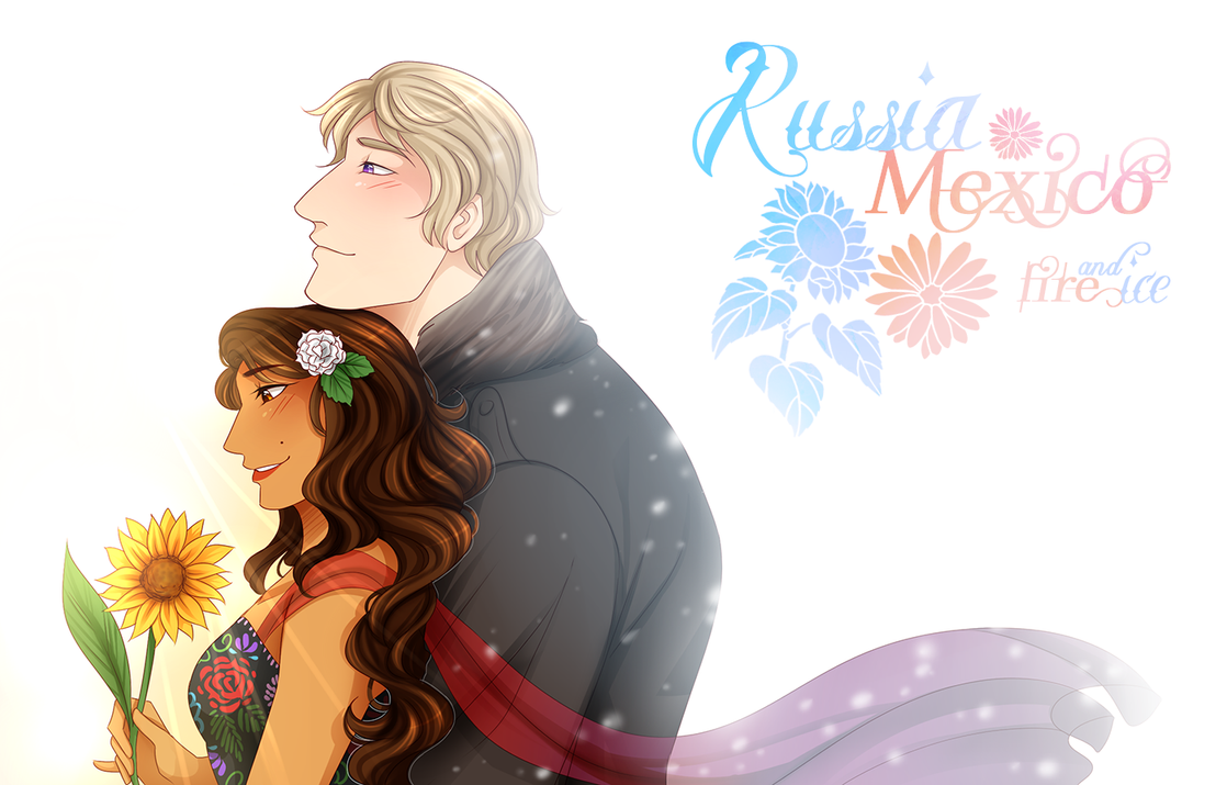 .:APH:. Fire And Ice by kamillyanna