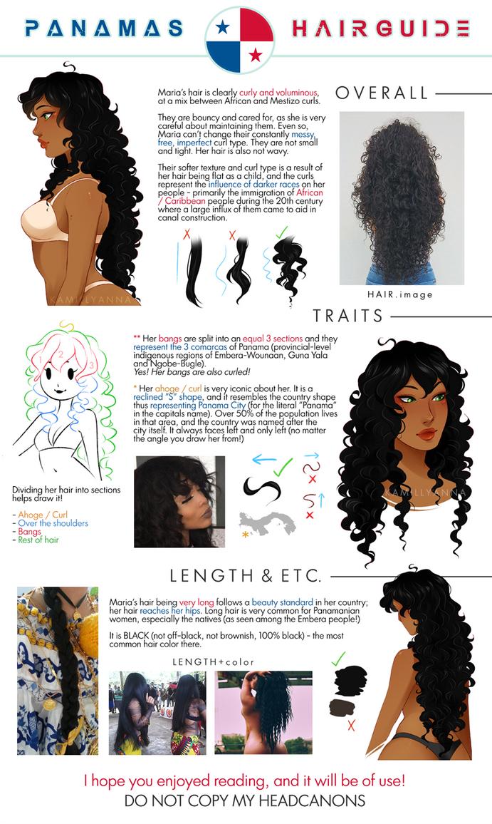 Aph Panama Hair Guide By Kamillyanna On Deviantart