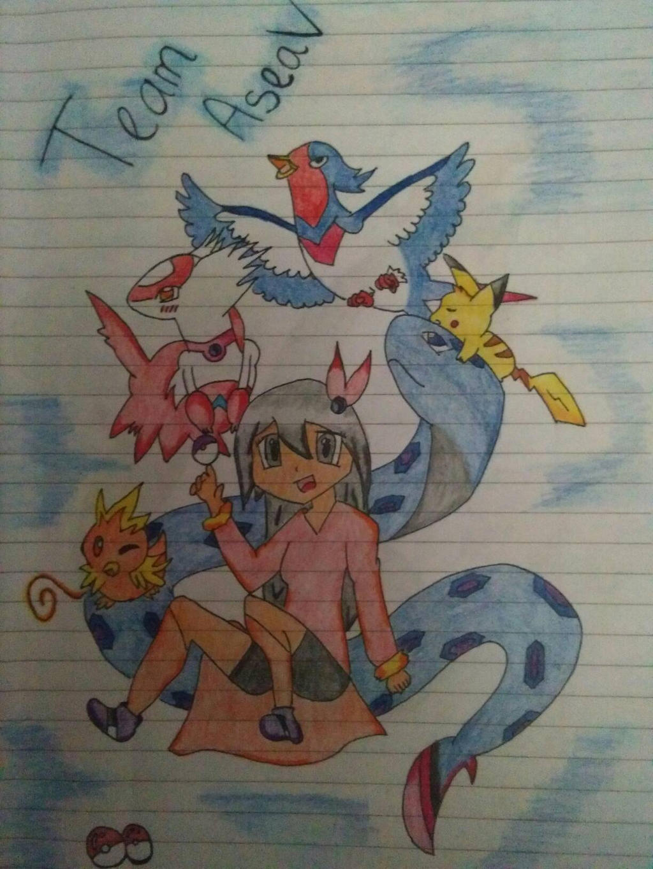 Team AseaV by GoAraX25X