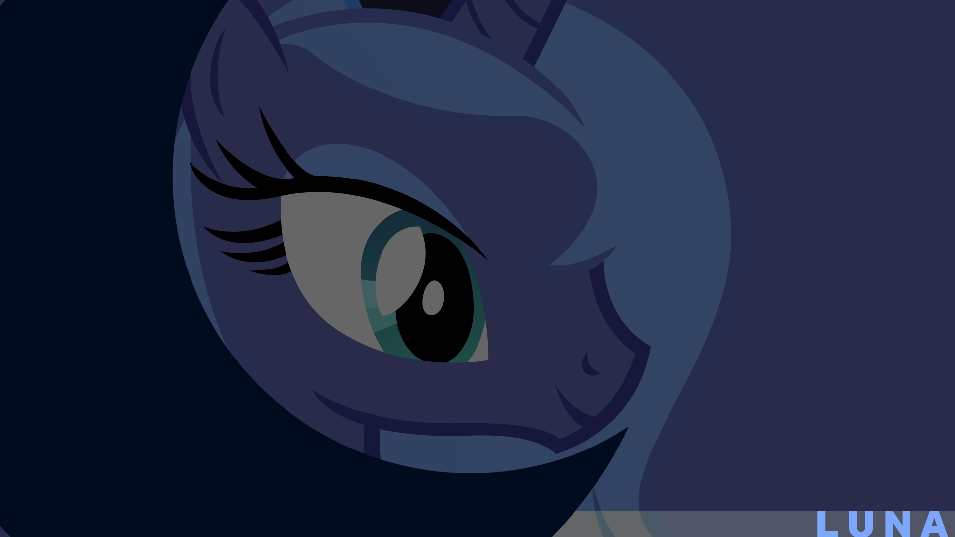 Luna - Minimal Dark by Elalition