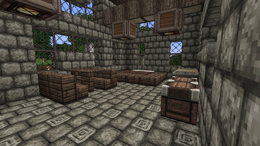 Minecraft Inside Of A Medieval House By Cybermiez On Deviantart