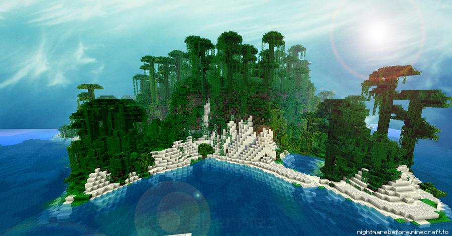 minecraft island wallpaper 1080p - photo #24