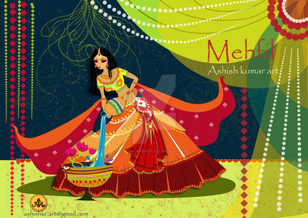 Mehfil 5 by ashishkrart