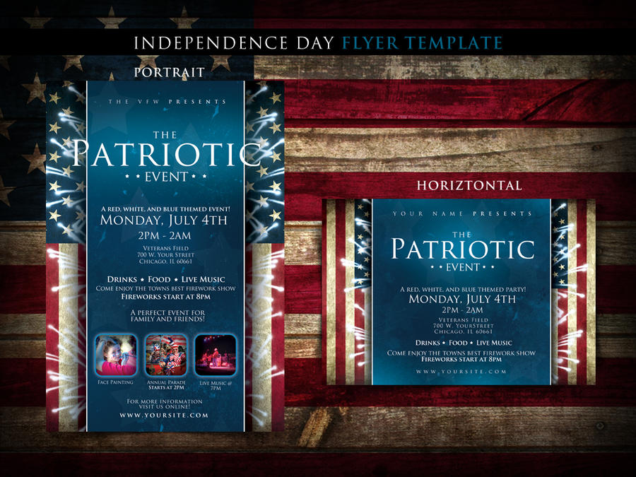 4th Of July Flyer Template By Tommyhanus On Deviantart