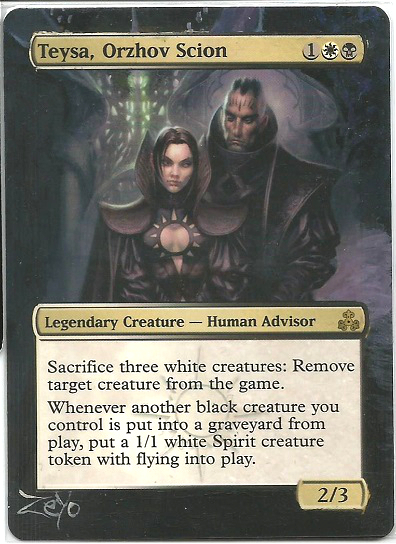 Mtg Card Alter Teysa Orzhov Scion By Zeyozx On Deviantart Besides just providing sweet value from any of our with darkest hour in play, all creatures our black. mtg card alter teysa orzhov scion by