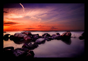 Bloody Sunset by xldstudios