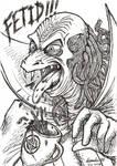 Inktober 2014 - Ziltoid the Omniscient