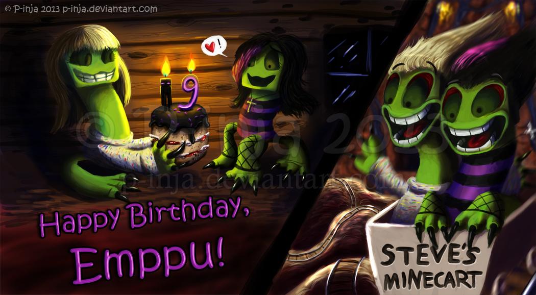 Happy Birthday, Emppu! by MustaPantteri