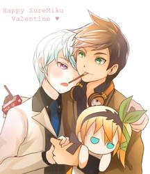 Happy V day by Kyouheii