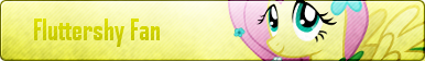 Fluttershy Fan Button by CrystalPonyArt7669