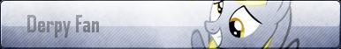 Derpy Fan Button by PokemonLover7669