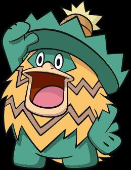 #272 Shiny Ludicolo Dream World Recolor by PokemonLover7669