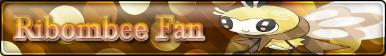 Ribombee Fan Button by PokemonLover7669
