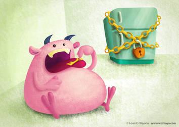 Monster on diet! by LouisDavilla