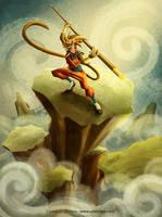 The Monkey King by LouisDavilla