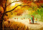 Autumn In Canada by LouisDavilla
