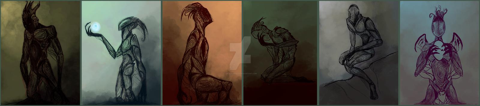 Emotions through Ink Minor by XBlackShuckX