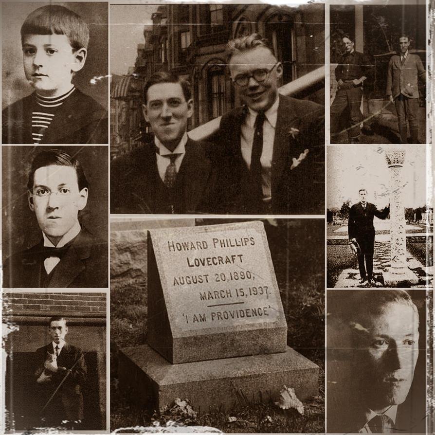 H.P.Lovecraft by Waruzimu