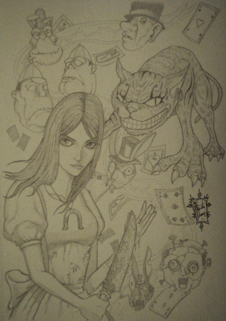 Alice_pencil_2011 by PatrickOlsen
