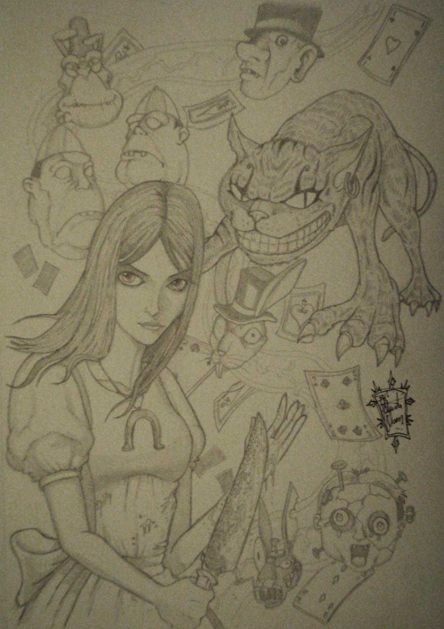 Alice_pencil_2011 by PatrickOlsen