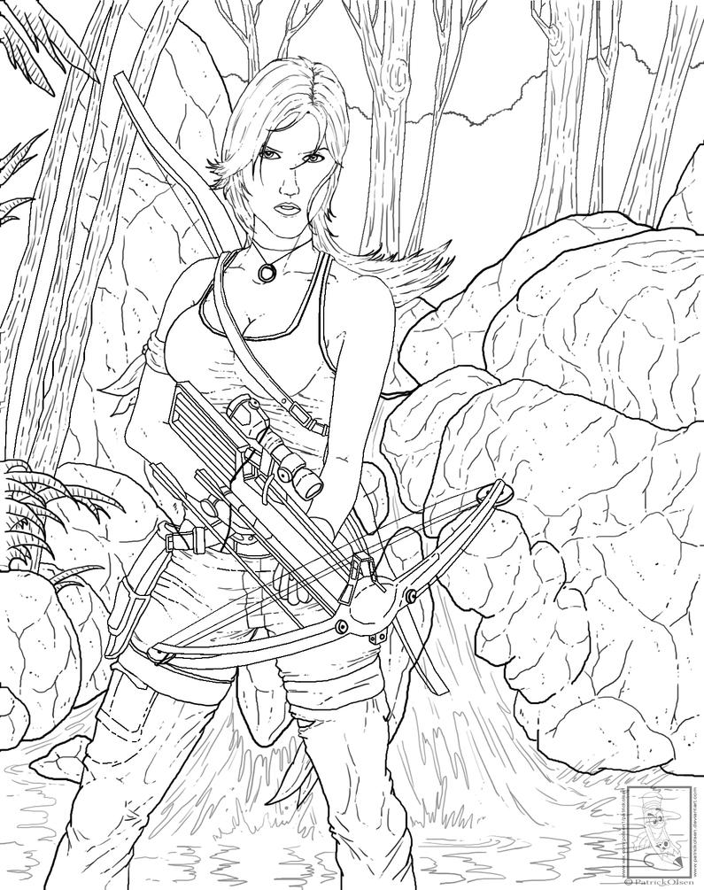 Tomb Raider Black And White Complete by PatrickOlsen