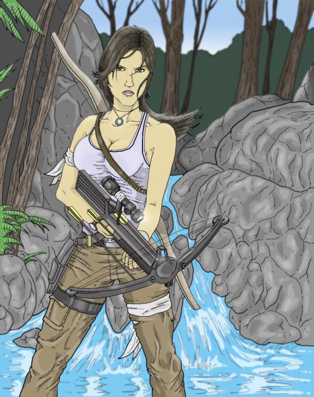 Tomb Raider Color No Watermark by PatrickOlsen