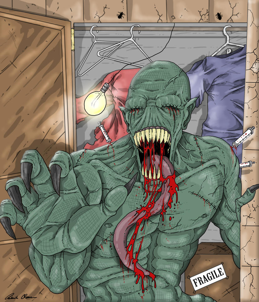 Monster piece_color by PatrickOlsen
