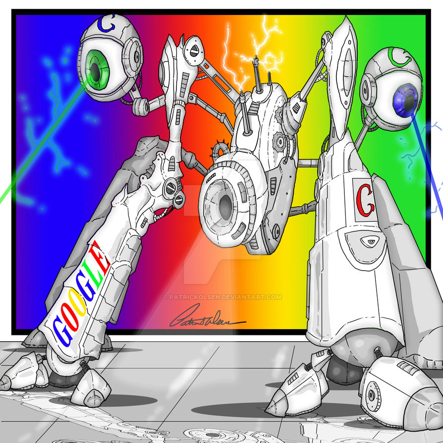Robot Google project by PatrickOlsen