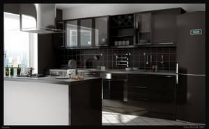 kitchen by Skiki3d