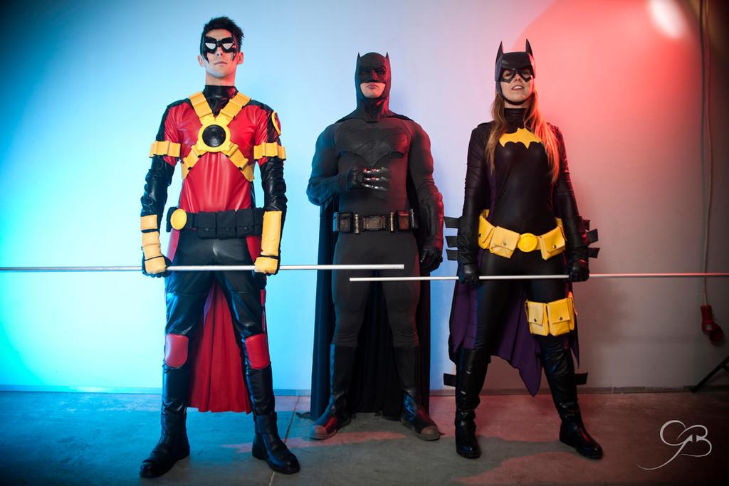Batfamily batgirl red robin cosplay by AriannaSakuya ... & Batfamily batgirl red robin cosplay by AriannaSakuya on DeviantArt