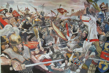 Battle the gallic war by VincentPompetti
