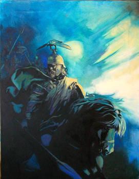 Brennus Oil on canvas