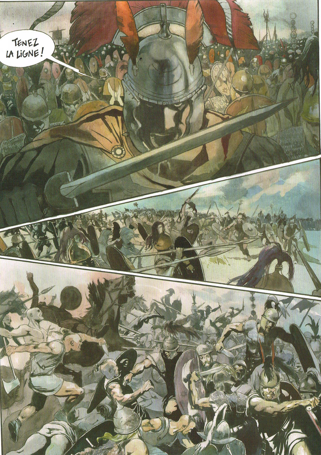 The Gallic War book 1, page 13 by pegasusandco