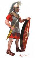 Republican Legionary II by VincentPompetti