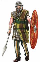 Gallic Warrior by VincentPompetti