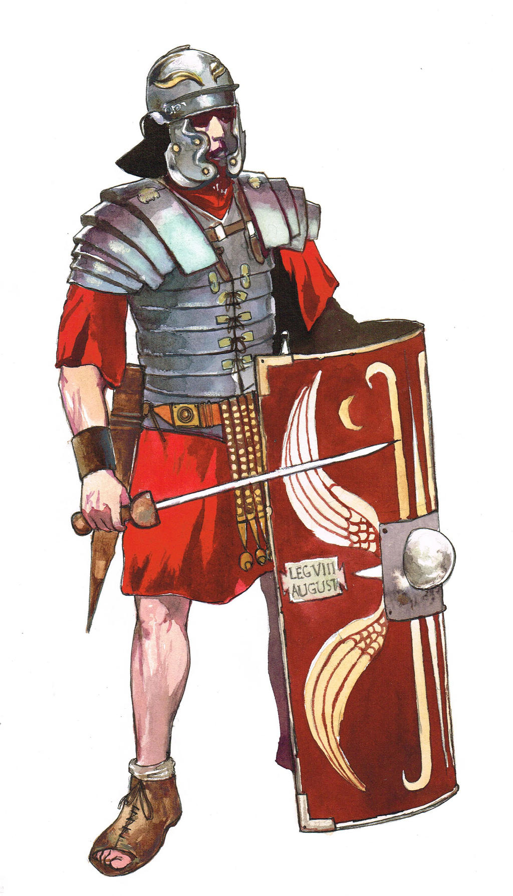 an analysis of the weapons and equipment of the roman legion The roman military - download as word in a legion there were 10 cohorts and in those cohorts there a soldier had to carry his weapons and artillery with him.