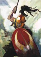 Roman legionary attack by VincentPompetti