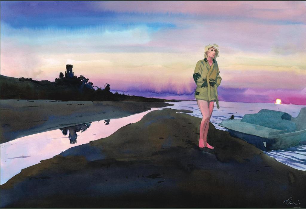 Pineto sunrise by VincentPompetti