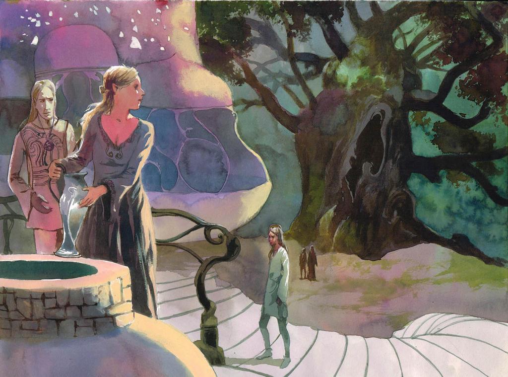 Elvish land by VincentPompetti