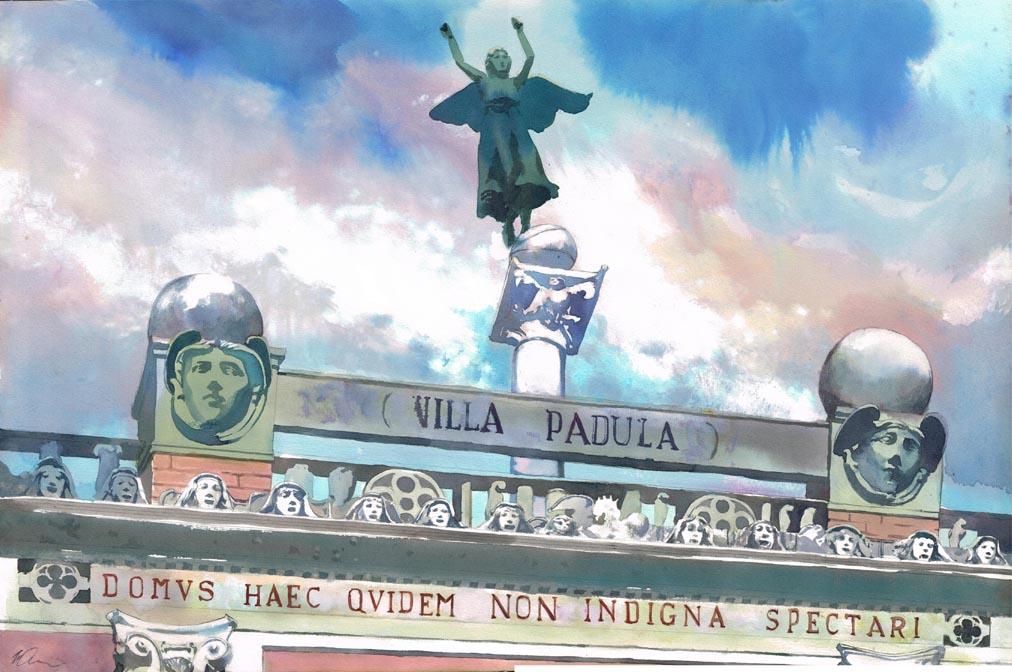 Villa Padula by VincentPompetti